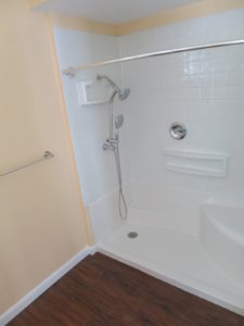 Wheelchair Accessible Shower 225x300 - (CONTRACT PENDING) 1013 Royal Ct, Cheswick, PA 15024